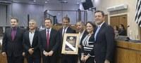 'Dr. Eugênio Malavasi é homenageado na Câmara Municipal'