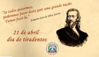 21 de abril, dia de Tiradentes