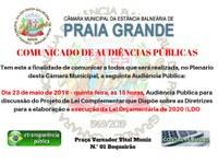 'Audiência Pública'