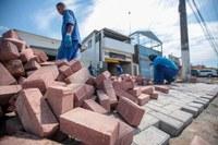 Avenida do Trabalhador está sendo revitalizada