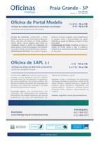 Oficina Interlegis do Portal Modelo e SAPL 3.1 em Praia Grande - SP