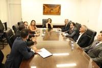 Reunião com a Comissão de Vereadores