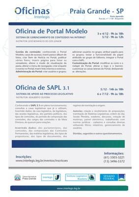Oficina Portal Modelo e SAPL